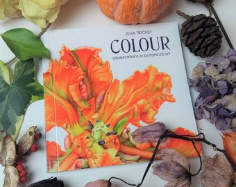 BOOK Colour - observations in botanical art (with colour mixing kit)
