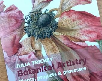 BOOK Botanical Artistry - signed copy.