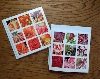 Colour and Detail Botanical Greetings Cards