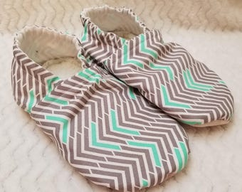 Mint Chevron Adult