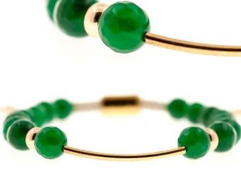 Baluya Green Agate Bracelet