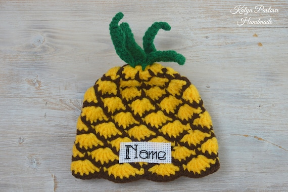 Pineapple Hat Cosplay Cap Performance Role Playing Hat Hawaii Party Supplies