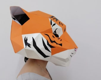Tiger mask | Etsy
