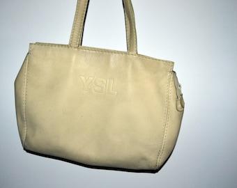 cbc1d0f4b9 Vintage YSL Yves Saint Laurent Leather Shoulder Bag