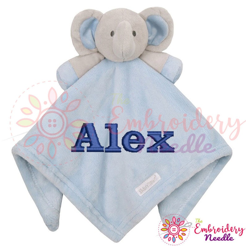 New Baby Gift Newborn Baby Blue Elephant Comforter Blanket Soft Toy Soother
