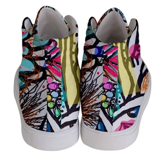 Modernes De Hi Skate Couleur Top Chaussures Femme Sport qpFRZ