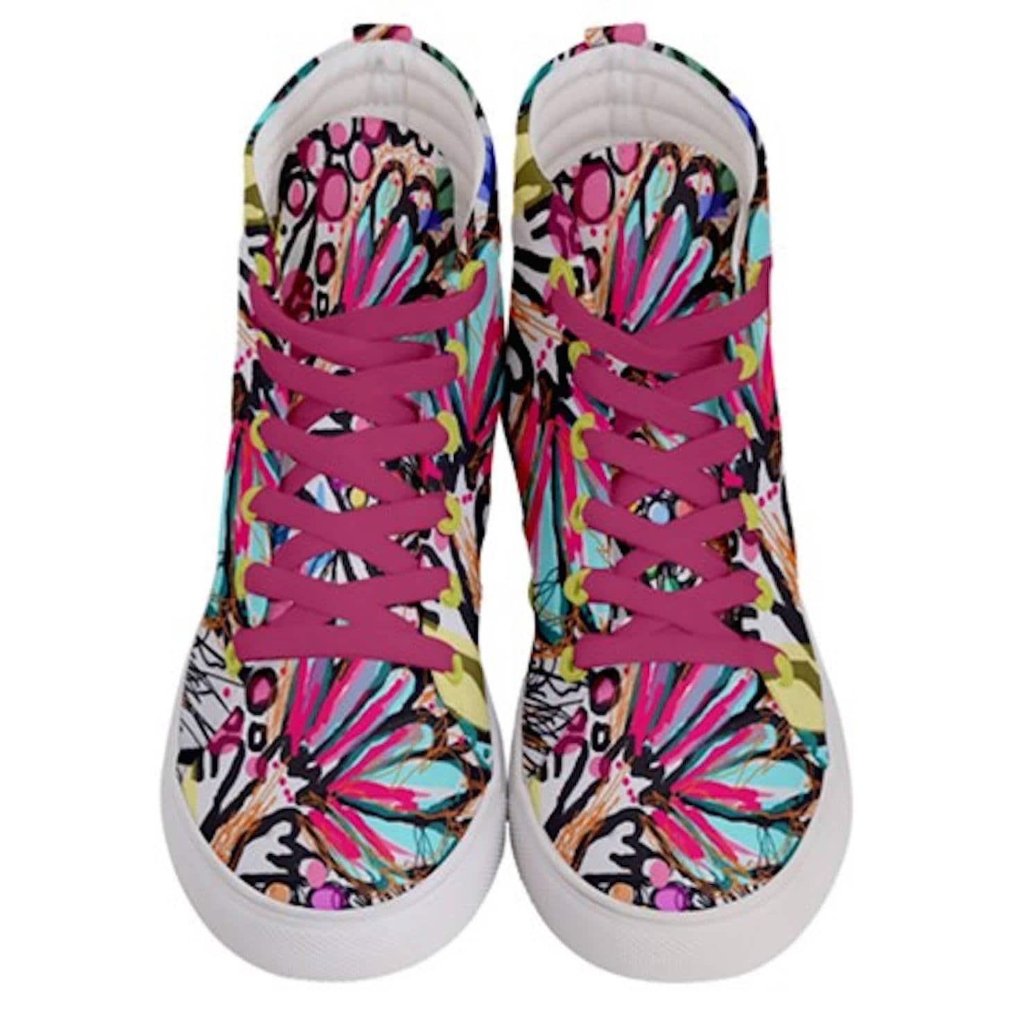 De Modernes Sport Hi Skate Dessin Couleur Femme Chaussures Wqa6xbw Top qCqWE8Rw4