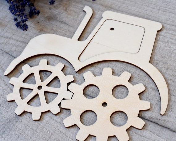 Busy Board Door Cloud Set Montessori Activity Sensory Wooden Toy Toddler Learning Wood Laser Cut Engraving