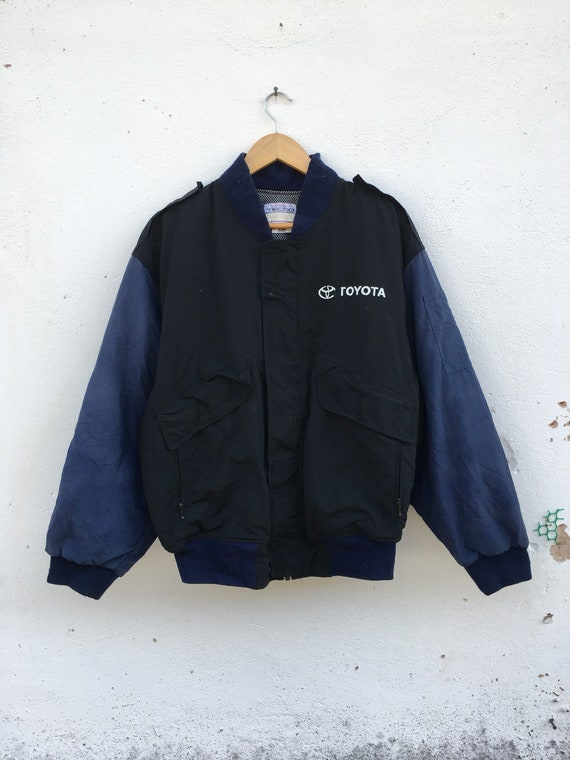 Rare Toyota Techno Bomber jacket Nice Color