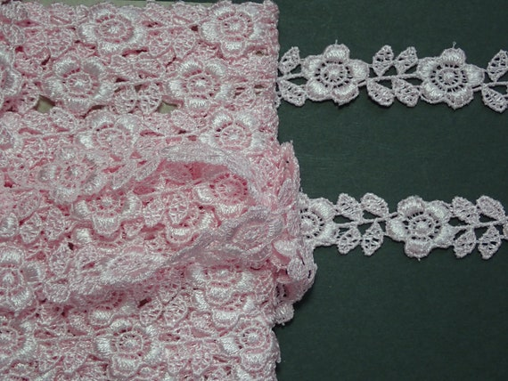 10 metres supplied in various colours and widths Burlesque Lace Bundle