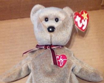 TY Beanie Baby 1999 Signature Bear 70e56ee386