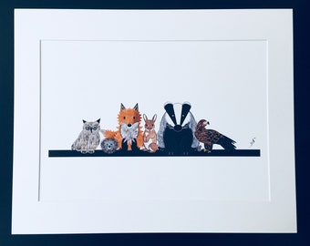The Forest Creatures group by Desjigns and card
