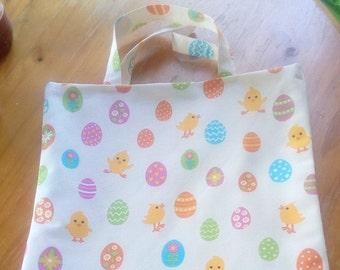 colorful eggs chicks bag