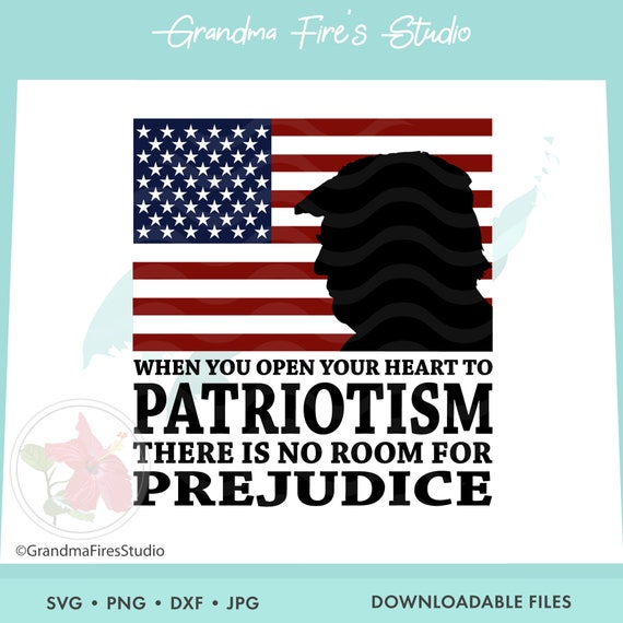 Trump Svg 4th Of July Independence Day President Trump Etsy