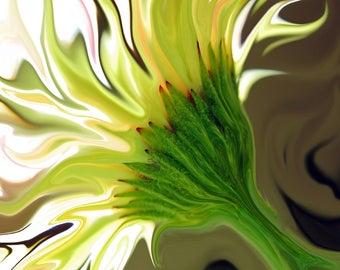 """Yellow Daisy Print - """"Wild Thing"""""""