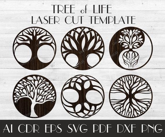 set 6pcs tree of life wall decortree of life arttree etsy