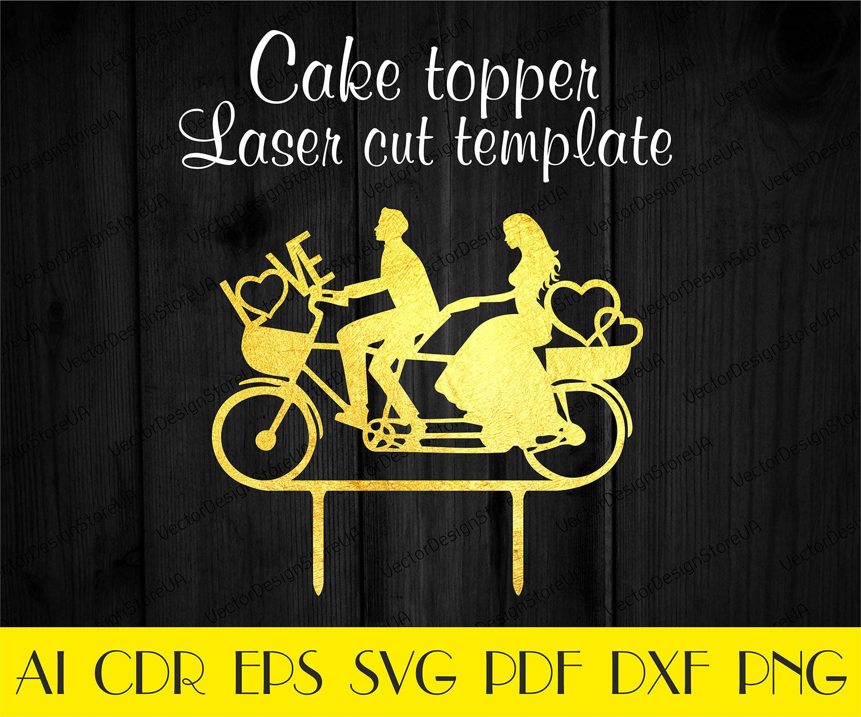 I love you cake topper svgWedding cake topperAnniversary | Etsy