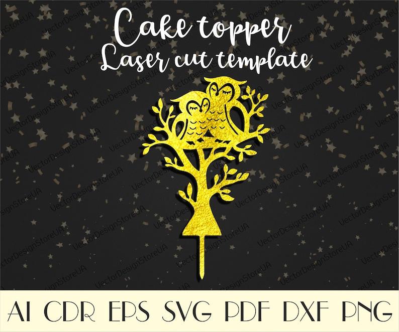Owl Couple Wedding Cake Topper,Mr/&Mrs cake topper,Owls svg,Love cake topper,Wedding cake topper,Cake topper laser cut,CNC files CTT-157