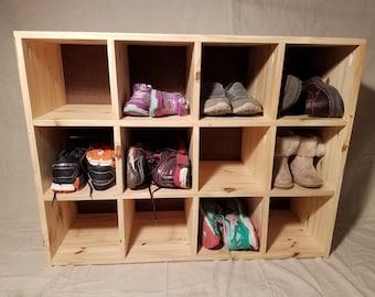 Shoe Cubbie Shelves