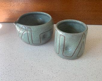 Spouted Matcha Bowl & Mug