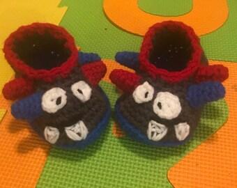 17b45e0a3cd1 Monster slippers