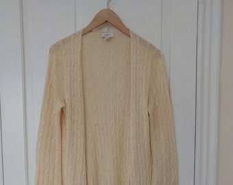 Vintage LOFT Tunic Cardigan with Bell Sleeves