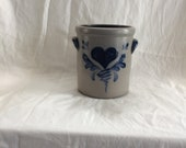 Rowe Pottery Works Small Crock