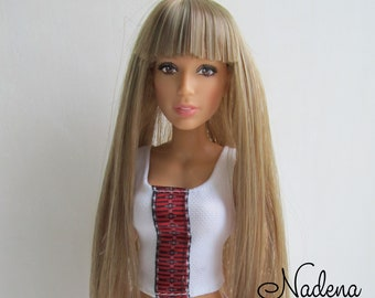 Wig for Barbie . c5fbb0168