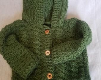 c083976eaee1 Crochet baby sweater