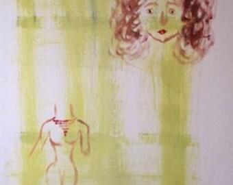 Janice | 2017 | Oil on canvas | 120x80cm