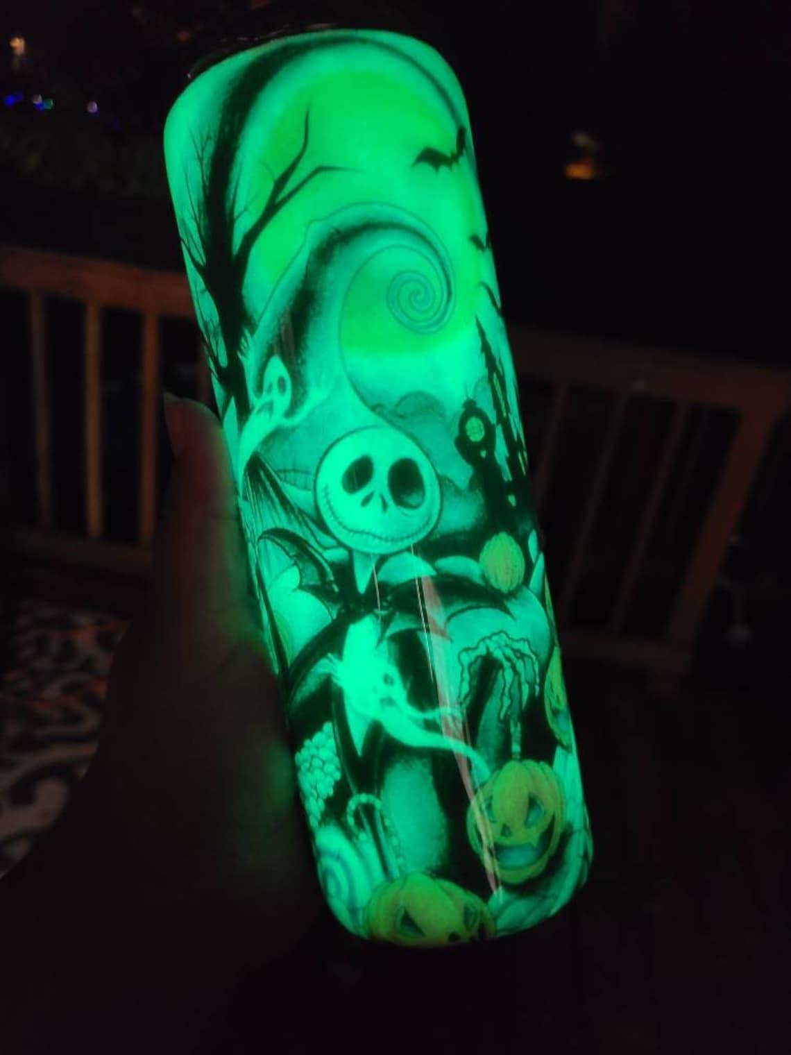 Nightmare Before Christmas Glow In the Dark Tumbler Cup  image 3