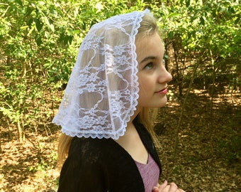 Genoa Simplicity Veil in White - Not Quite Perfect