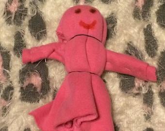 corn husk inspired doll
