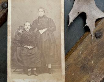 CDV Photo of Two Women