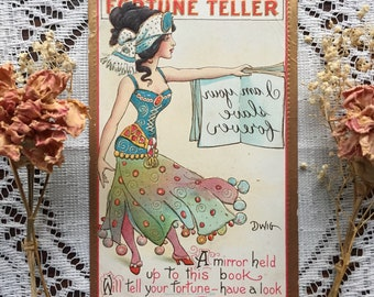 Antique Fortune Teller Postcard from 1909