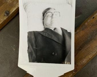 Vintage Post Mortem Funeral Snapshot