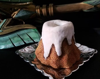 Skyrim Sweet Roll 1 1 game scale resin Cosplay Prop 810aef4454