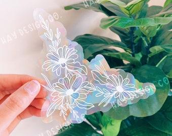 Daisy Suncatcher | Rainbow Maker | Prismatic Window Decal