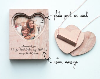 Handcrafted Wood Jewelry Gift Box