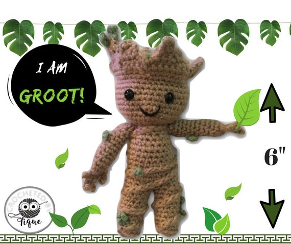 BIG BABY GROOT (ENGLISH PATTERN) | 478x570