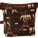 Large Paris Project Bag, Knitting Bag