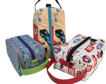 Toiletry Bags/Cosmetic Bags for Women, multiple patterns available