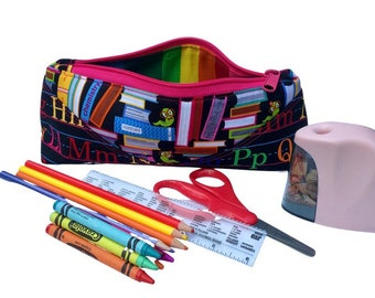 Pencil Pouch, Multiple Colors/Prints, Back to School