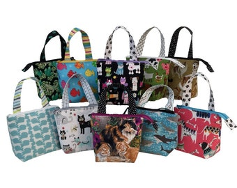 Small Grab'n Go Toy Bags, Animal Collection, variety of patterns available