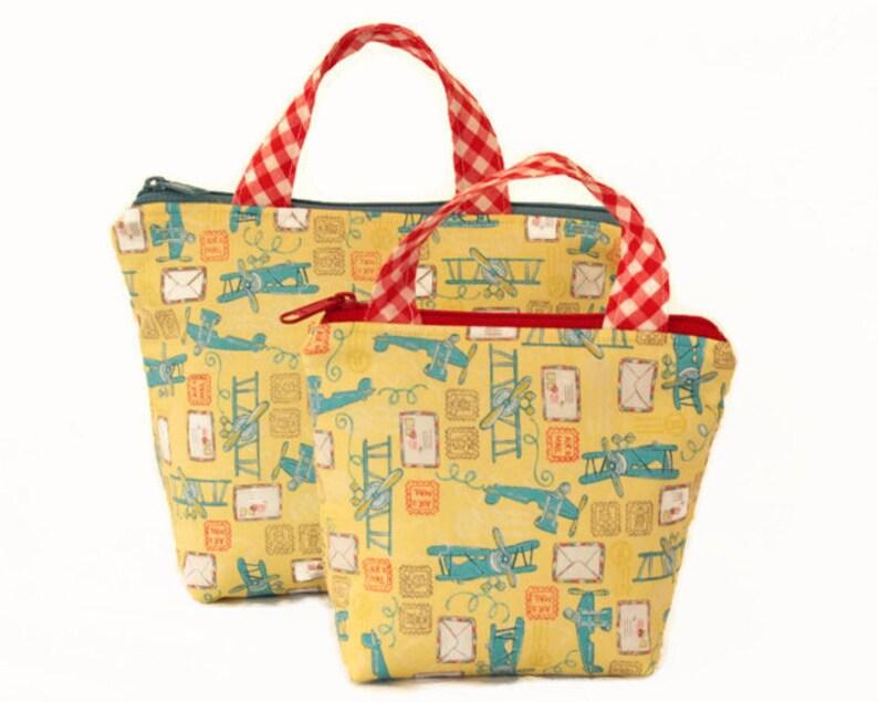 Airplanes Bag Large Grab/'n Go Bag Toy Bag