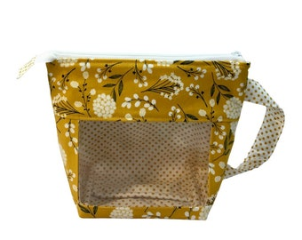 Mustard Blossoms Window Project Bag, Small