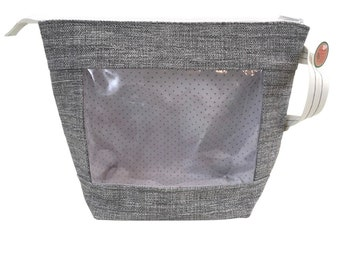 Silver Threads X-Large Project Bag, Window Line