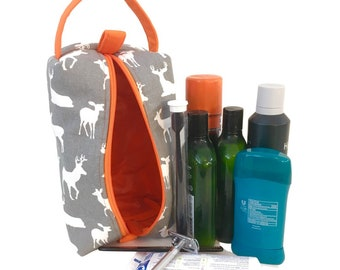 Toiletry Bags/Shaving Kits - Masculine Patterns & Styles, up to 5 designs available