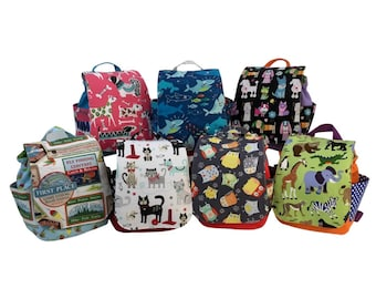 Toddler Backpacks, variety of patterns available