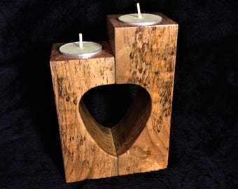 Guitar Pick Shaped Tea Light Candle Holder Set